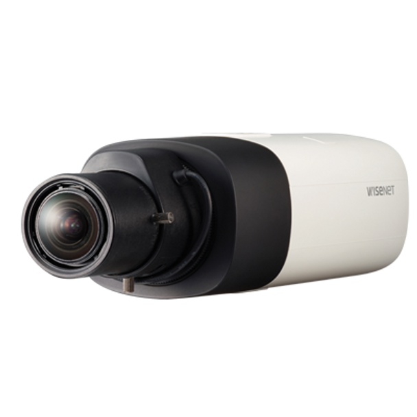 Samsung XNB-6000 2MP Indoor Box IP Security Camera - 1/2.8'' CMOS, WDR, Dual SD Slots