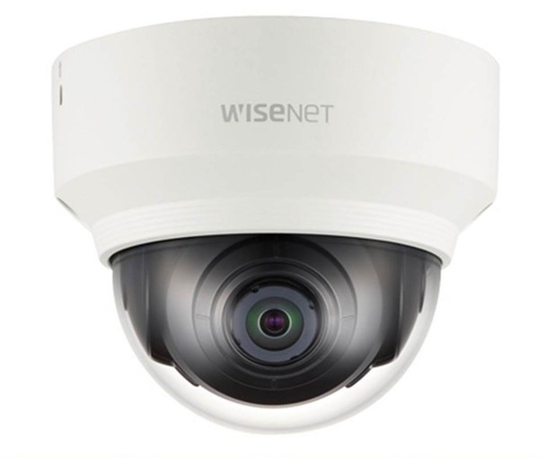 Samsung XND-6010 2MP Dome IP Security Camera - 2.4mm Fixed Lens, 12/.8'' CMOS, WDR, Day&Night