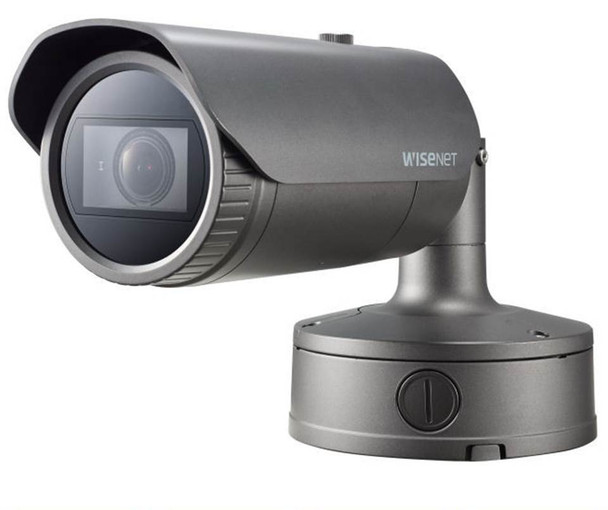 Samsung XNO-6080R 2MP Outdoor Bullet IP Security Camera - 2.8~12mm Motorized Lens