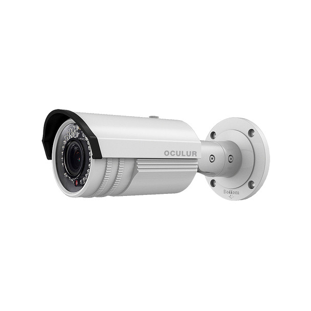 Oculur X4BV 4MP H.265+ IR Outdoor Bullet IP Security Camera with Motorized Lens