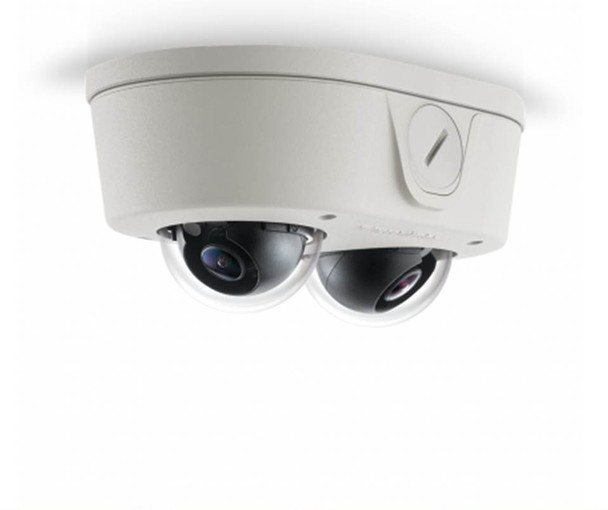 Arecont Vision AV6656DN-NL 6MP Microdome Indoor/Outdoor IP Security Camera - No Lens, SNAPstream