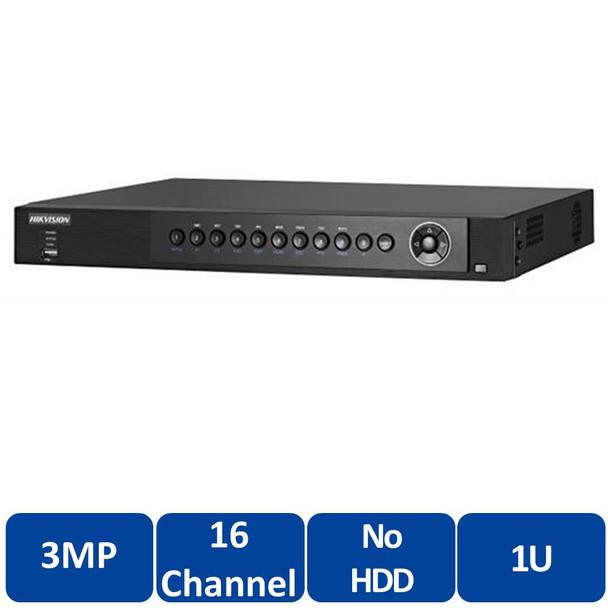 Hikvision DS-7216HUHI-F2/N 16-Channel H.264+ Tribrid DVR Digital Video Recorder - TurboHD 3.0