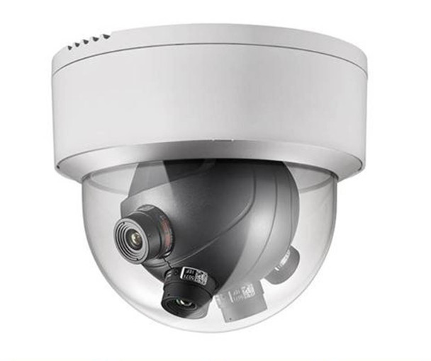 Hikvision DS-2CD6986F-H 8MP Multi-Imager Panoramic Outdoor Dome IP Security Camera