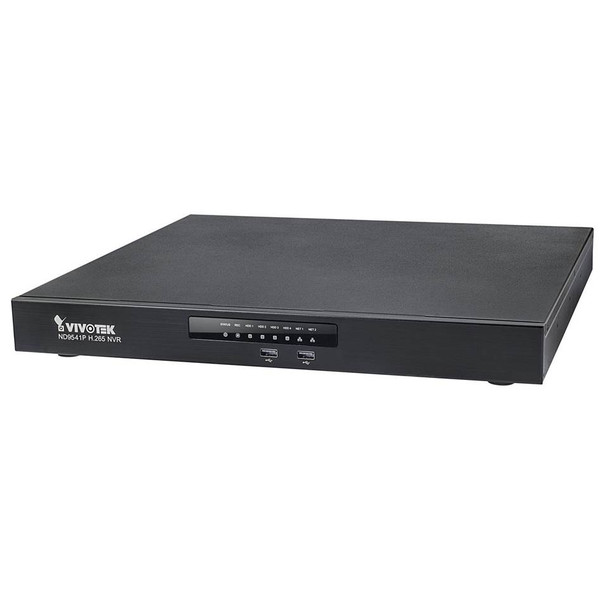 Vivotek ND9541P 32-Channel 16-PoE H.265 Network Video Recorder