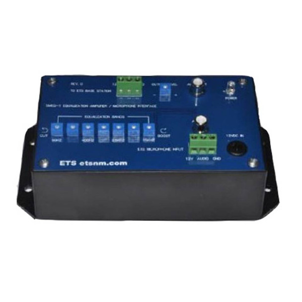 ETS SMEQ-1 Seven Band Equalizer IP Camera Microphone Interface