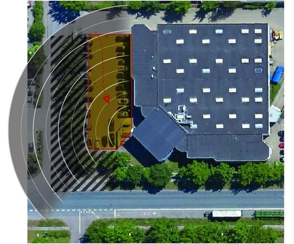 AXIS D2050-VE Surveillance Radar Detector - 01033-001