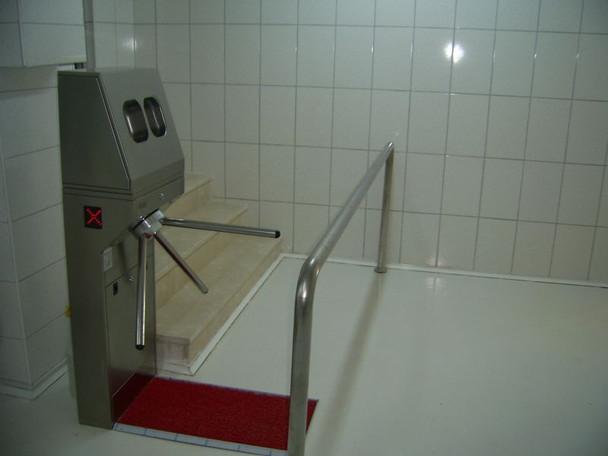 Hygiene Disinfecting Bi-Directional Turnstile TS-Hygiene