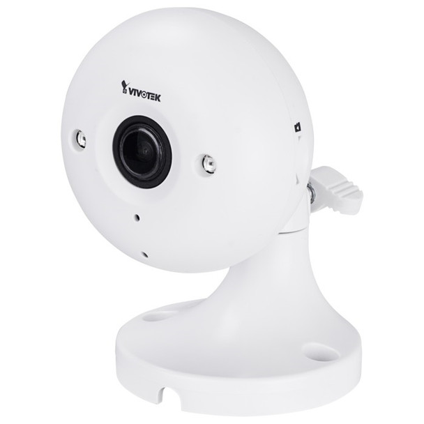 Vivotek IP8160-W 2MP Cube Fixed Wireless Indoor IP Security Camera - 2.8mm Fixed Lens, IR Length up to 26 ft, Built-in Mic and Speaker, Wi-fi