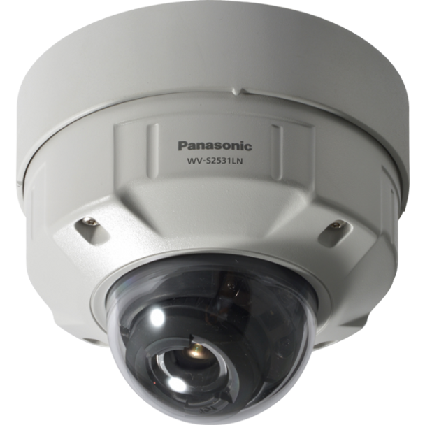 Panasonic WV-S2531LN 3MP H.265 Outdoor Dome IP Security Camera