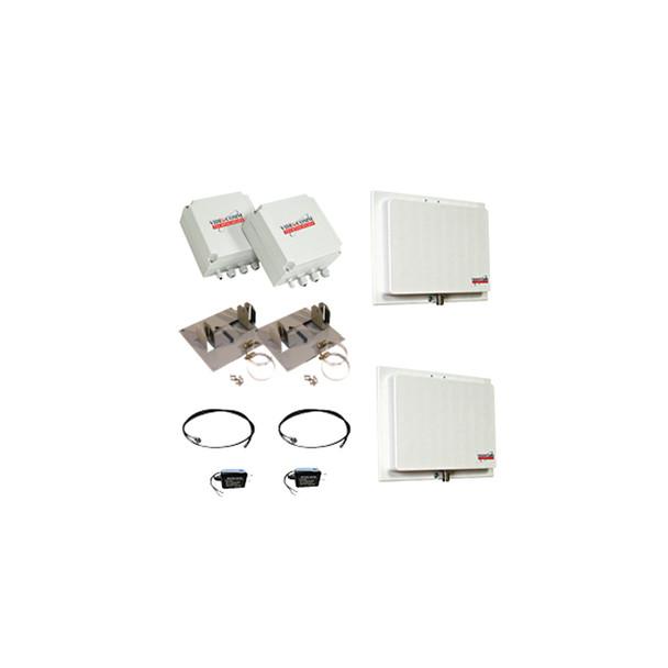 Videocomm TCO-2409QX10 2.4GHz Digital FHSS Outdoor Analog Video + RS-485PTZ Data System - Range 10-Miles