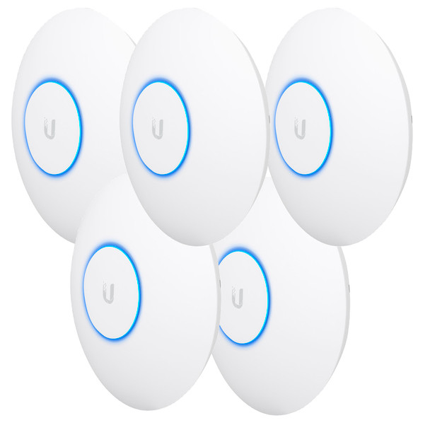 Ubiquiti UAP-AC-HD-5-US 5-Pack Unifi Wi-fi Access Point - 2.4/5 GHz, 1.733 Gbps, Up to 400ft Range, Indoor/Outdoor