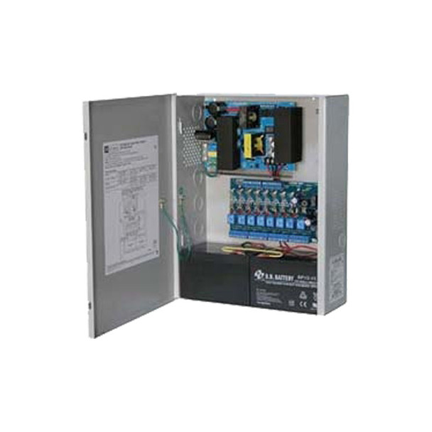 Altronix AL1024ULACM 8 Fused Outputs Power Supply/Access Power Controller