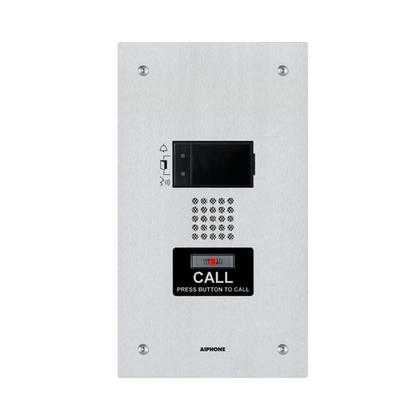 Aiphone IX-SS Flush Mount Audio Only Door Station for IX Series IP Video Intercom System