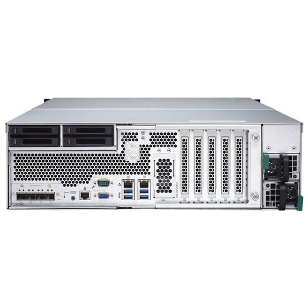 QNAP TDS-16489U-SA1-US 16-bay Dual Processor NAS Enclosure - 3U, rackmount