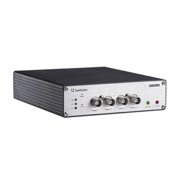 Geovision GV-VS2420 4 Channel AHD to IP Encoder 130-VS2420-AHD