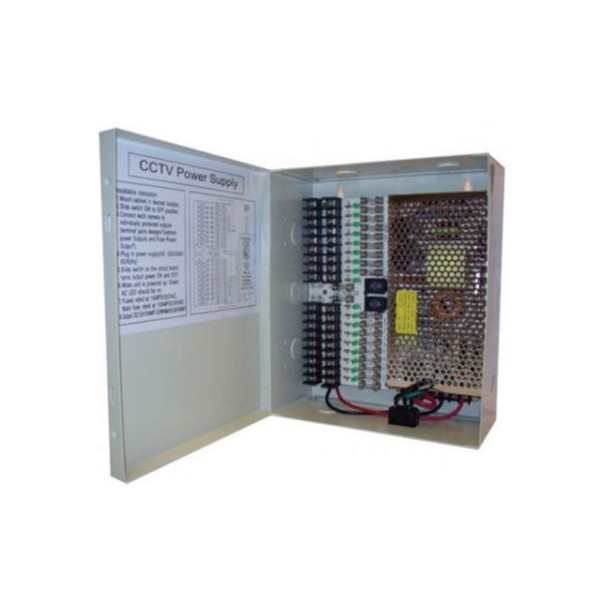 Oculur PC129-10A 9-channel Central Power Supply - 10-amp, 12vdc