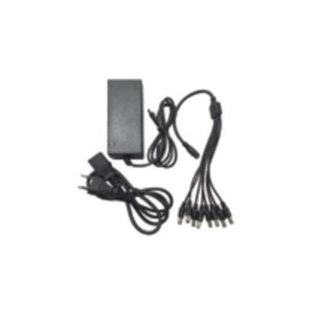 Oculur PA128-5A 12vdc Power Adapter - 8ch Splitter, 5amp