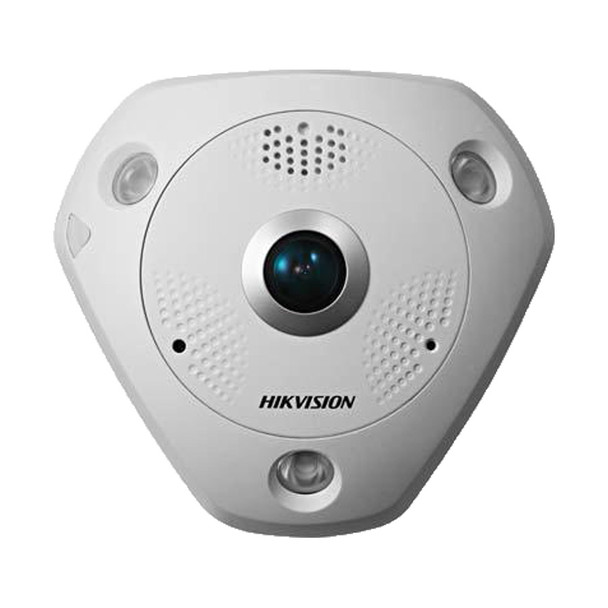 Hikvision DS-2CD6362F-IV 6MP Outdoor Fisheye IP Security Camera
