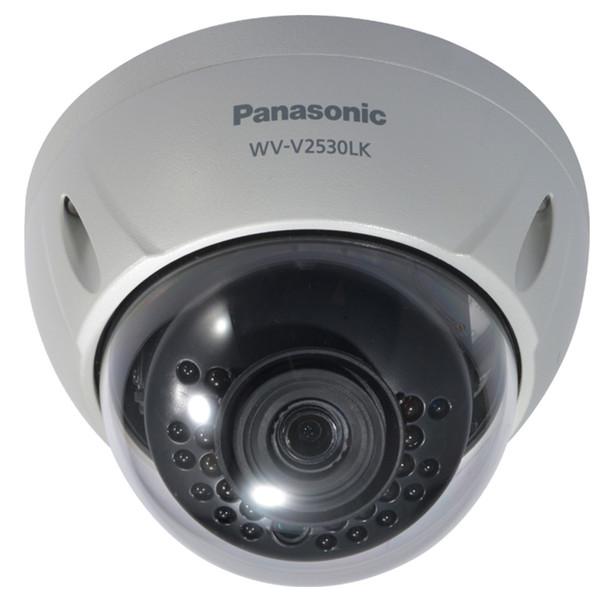 Panasonic WV-V2530LK 2MP H.265 IR Dome IP Security Camera