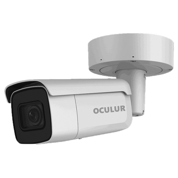 Oculur X4KBZ 8MP H.265+ Outdoor Bullet IP Security Camera with Motorized Lens