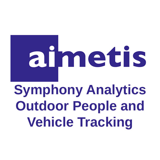 Senstar AIM-SYM7-VA-02 Symphony Analytics Outdoor People and Vehicle Tracking V7