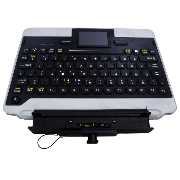Panasonic IK-PAN-FZG1-NB-V5 Snap-in-Place Fully Rugged Jumpseat Keyboard for the FZ-G1 Tablet