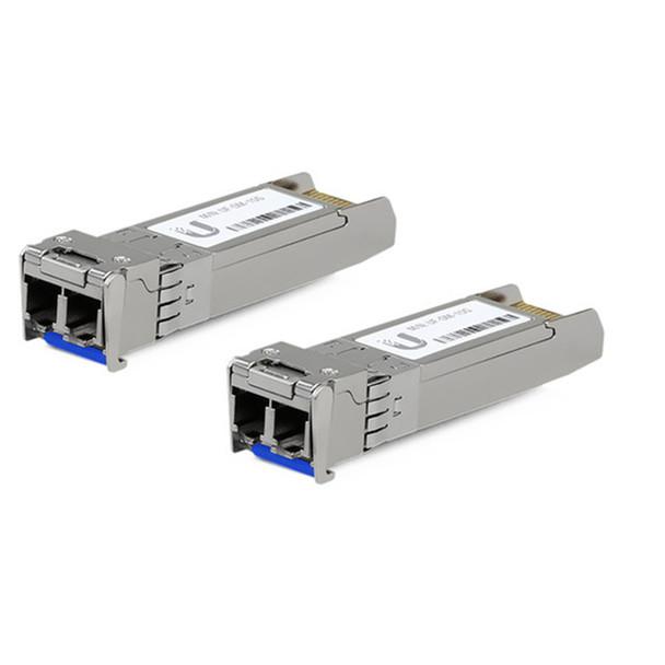 Ubiquiti UF-SM-10G SFP+ Single Mod Fiber Module 2 Pack