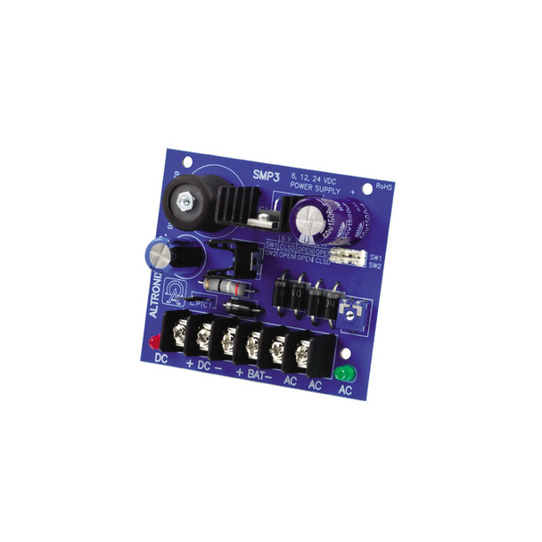 Altronix SMP3 Single Output Power Supply Charger Board