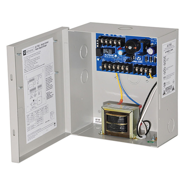 Altronix AL175UL 2 PTC Class 2 Outputs Access Control Power Supply Charger