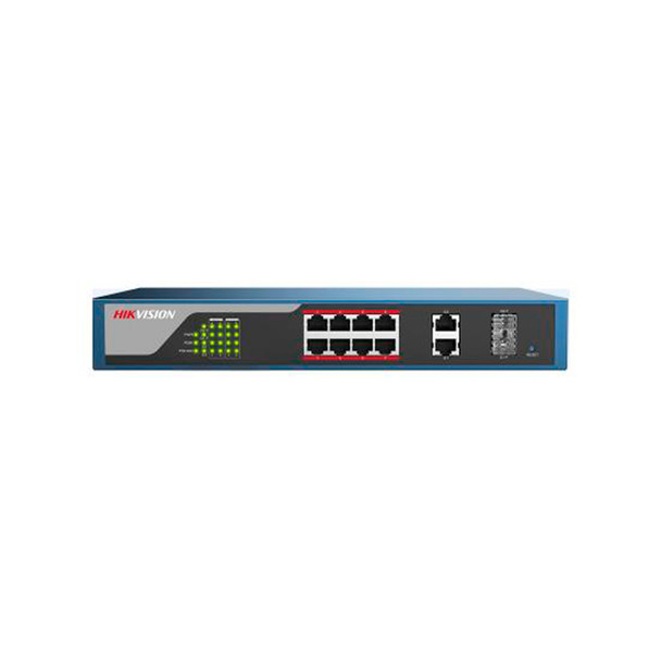 Hikvision DS-3E1310P-E 8-Port Web-Managed PoE Switch