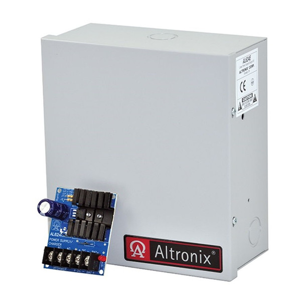 Altronix AL624E Single Class 2 Output Linear Power Supply Charger and Enclosure