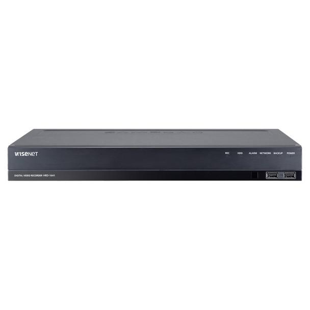 Samsung HRD-1641-2TB 16-Channel 4MP Analog HD DVR Digital Video Recorder - 2TB HDD included