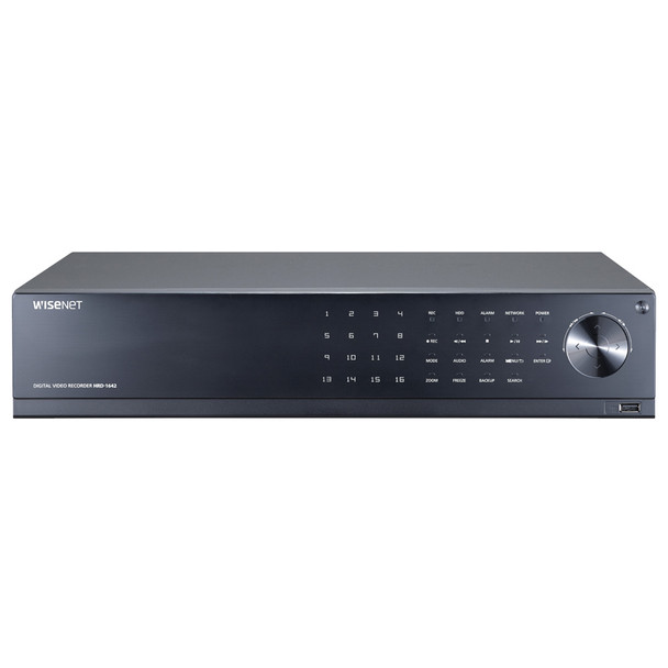 Samsung HRD-1642 16 Channel Analog HD Digital Video Recorder - No HDD included
