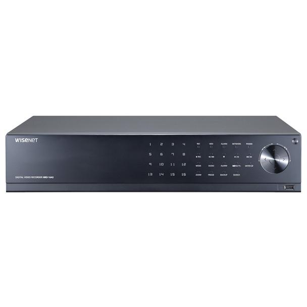 Samsung HRD-1642-36TB 16 Channel 4MP Analog HD Digital Video Recorder - 36TB HDD included