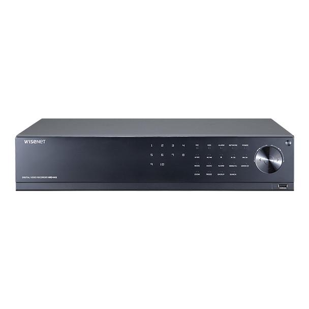 Samsung HRD-842-24TB 8CH 4M Analog HD DVR Digital Video Recorder - 24TB HDD included