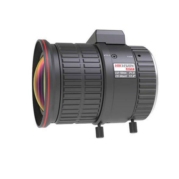 Hikvision HV3816D-8MPIR 8MP 3.8~16mm Vari-focal Lens - CS Mount, Auto Iris, IR, Aspherical