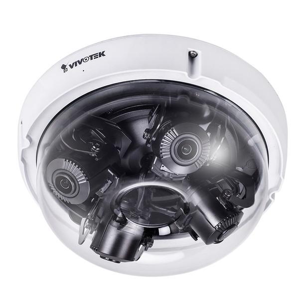 Vivotek MA8391-ETV 12MP Multi-sensor Extreme Weather Outdoor Dome IP Security Camera