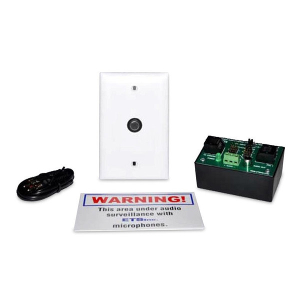 ETS SM5-EA-FL Single Zone POE Audio Surveillance Kit for IP Cameras with Flying Lead
