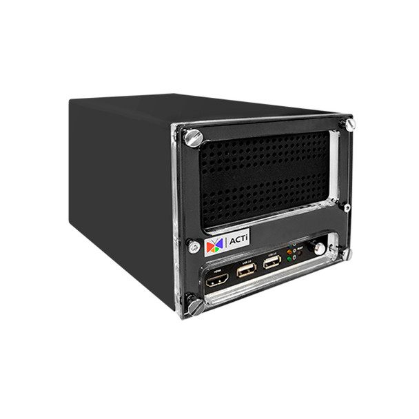 ACTi ENR-221P 9-Channel H.265 Standalone Network Video Recorder - No HDD included