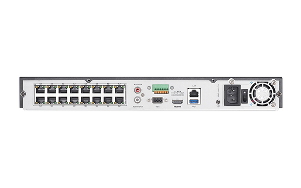 Hikvision DS-7608NI-I2/8P-6TB 8-Channel H.265+ 4K Network Video Recorder - 6TB HDD Installed