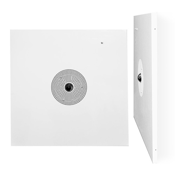 Speco O6PSP1 6MP IR H.265 360-degree Panormorph IP Security Camera with Amplified Ceiling Tile Speaker