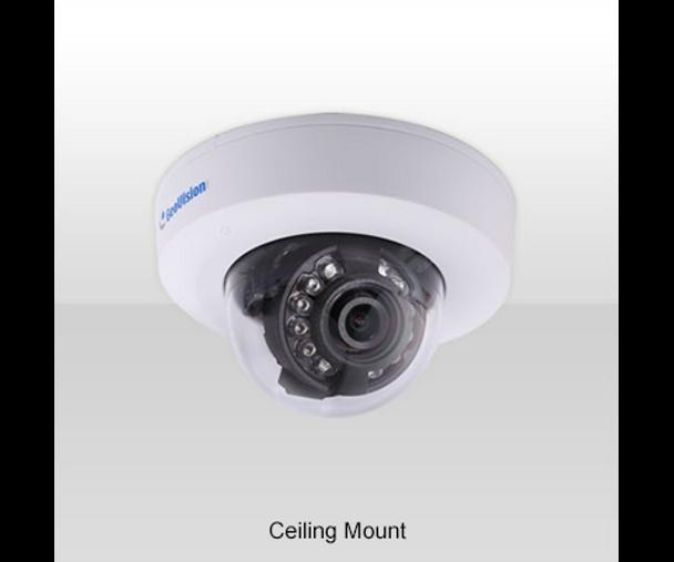 Geovision GV-EFD270T 2MP H.265 IR Indoor Mini Dome IP Security Camera 84-EFD2700-N010