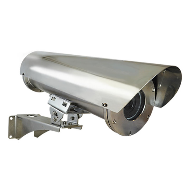ACTi PMAX-0211 Stainless Steel Housing with Heater, Fan (AC 220V) and Bracket