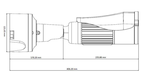 Geovision GV-BL4713 4MP IR H.265 Outdoor Bullet IP Security Camera