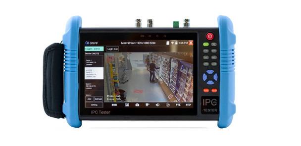 "ViewZ USA VZ-7IPTM 7"" IPS Hybrid IP/Analog Test Monitor"