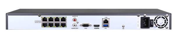 LTS LTN8708Q-P8 8 Channel 4K Network Video Recorder