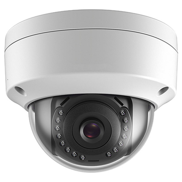 4 Megapixel InfraRed for Night Vision Outdoor Dome Network (IP) Security Camera, H.265 Plus Compression, Weatherproof, SD Card Support, 2.8mm Fixed Lens, CMIP7042-28