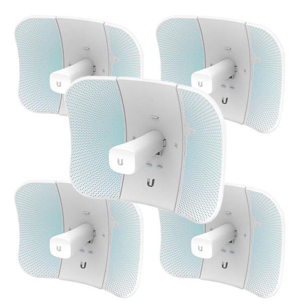 Ubiquiti LBE-5AC-GEN2-5 LiteBeam AC Ultra-lightweight airMAX ac CPE - 5-Pack