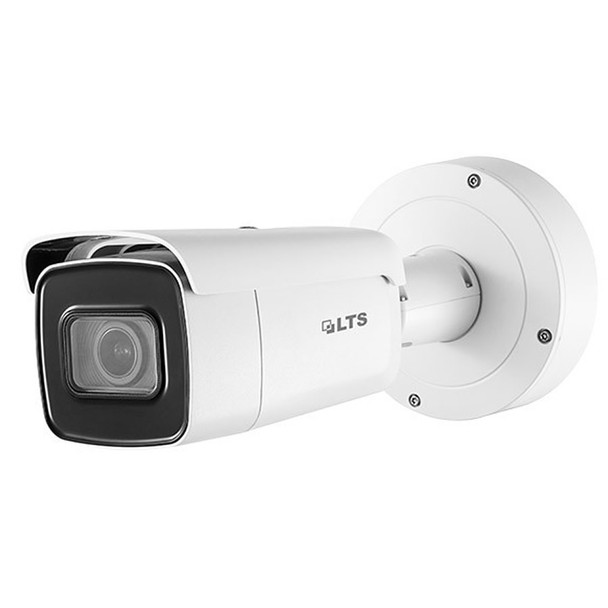 4 Megapixel InfraRed for Night Vision Outdoor Bullet Network (IP) Security Camera, H.265 Plus Compression, Weatherproof, SD Card Support, 2.8~12mm Motorized (Automatic Zoom) Lens, CMIP9843W-SZ
