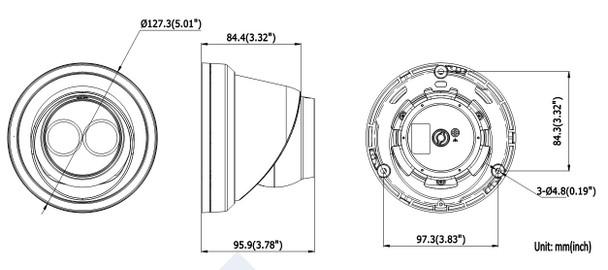 LTS CMIP3322W-28M 2MP IR H.265 Outdoor Turret IP Security Camera
